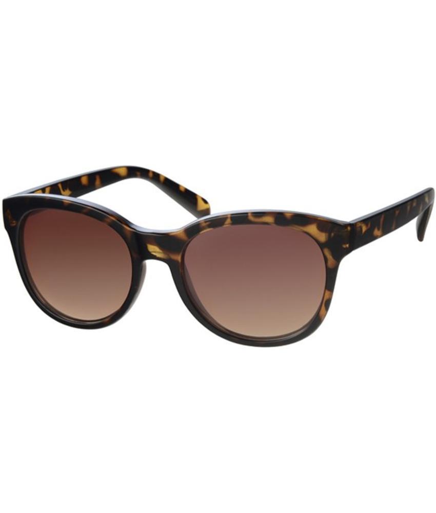 Zonnebril rond Brown Leopard I