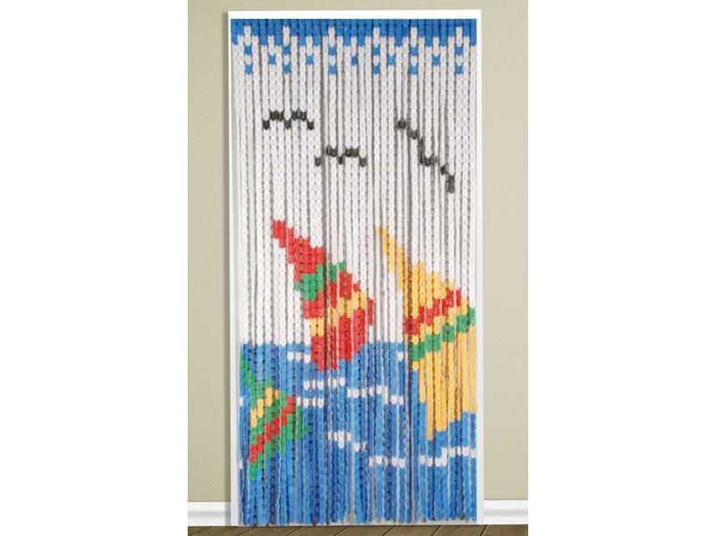 Vliegengordijn 90 x 200 cm. PVC Surf