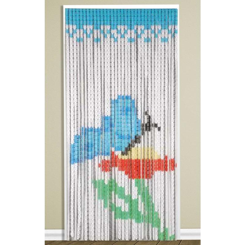Vliegengordijn 90 x 200 cm. PVC Vlinder