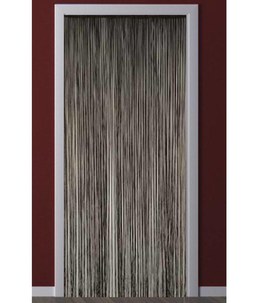 Deurgordijn Strings Zwart 90X200 cm.