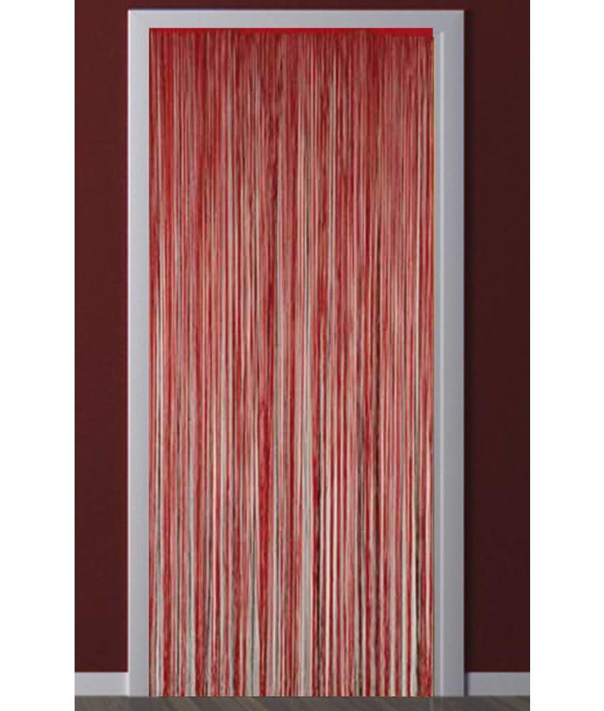 Deurgordijn Strings Rood 90X200 cm.