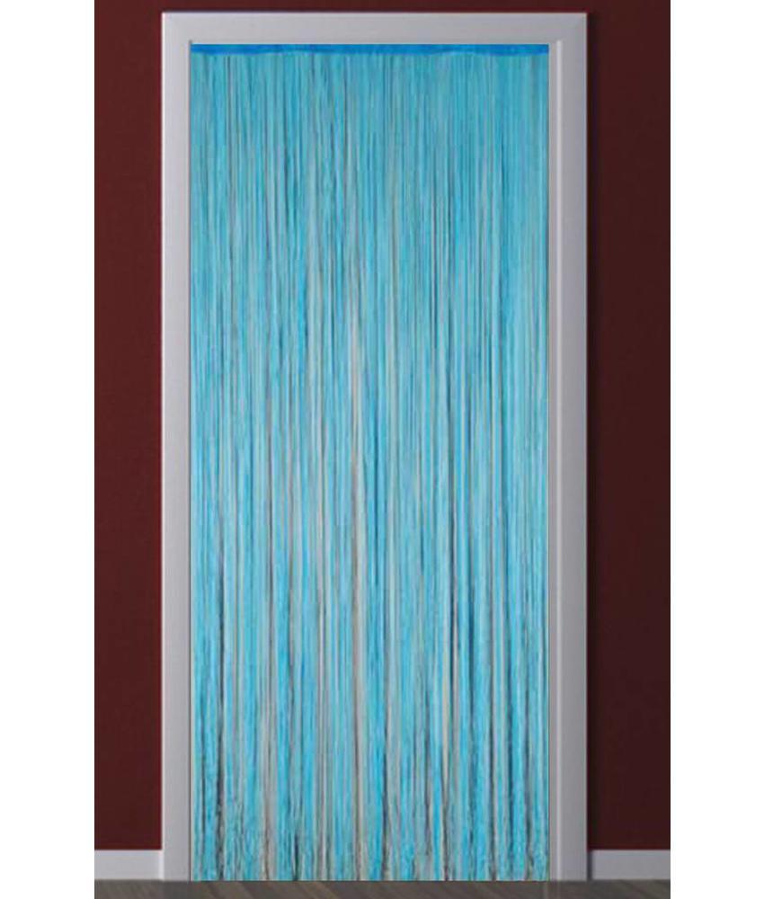 Deurgordijn Strings Blauw 90X200 cm.