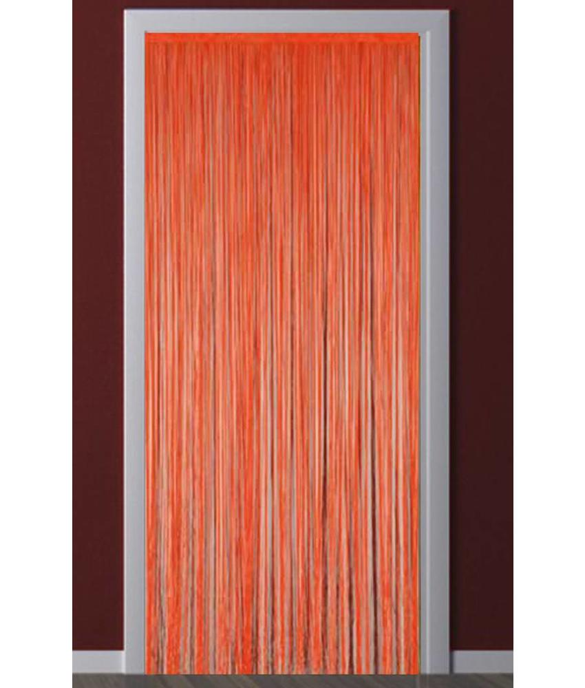 Deurgordijn Strings Oranje 90X200 cm.