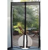 Vliegengordijn / Hordeur met magneten 100x215 cm. Zwart