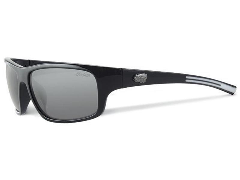 Indian Biker zonnebril black/white Logo