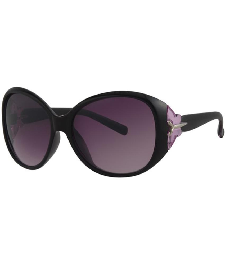 Level One Dames zonnebril zwart/paars