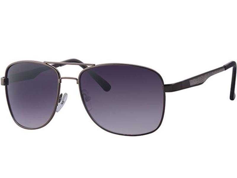 e4ffdb3a570405 Level One Piloten zonnebril zwart   nickel - Megatip.be