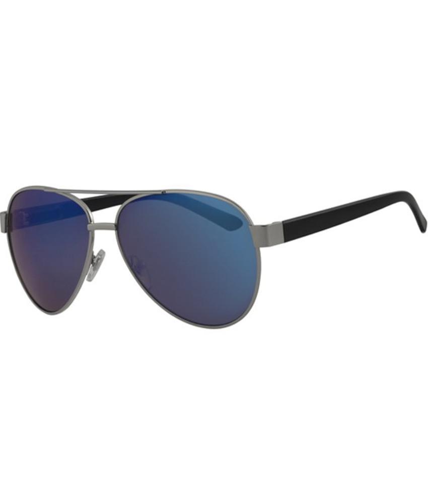 Level One Aviator zonnebril zilver/zwart