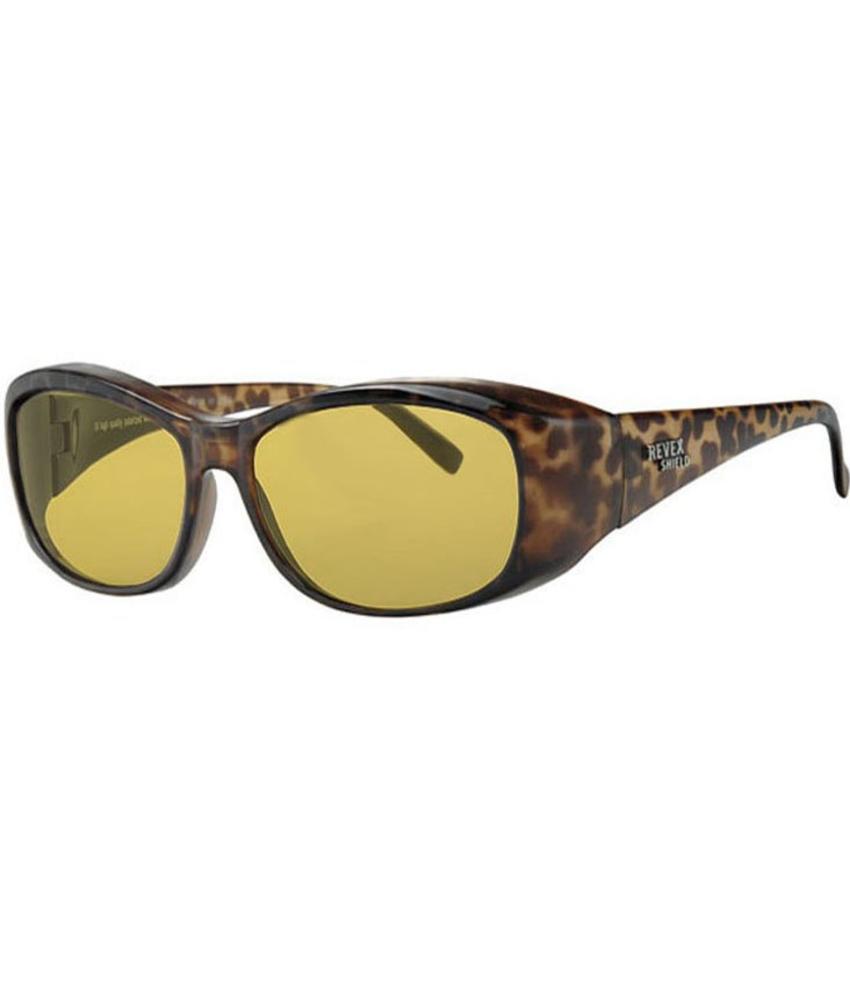 Revex Overzet Zonnebril night vision leopard