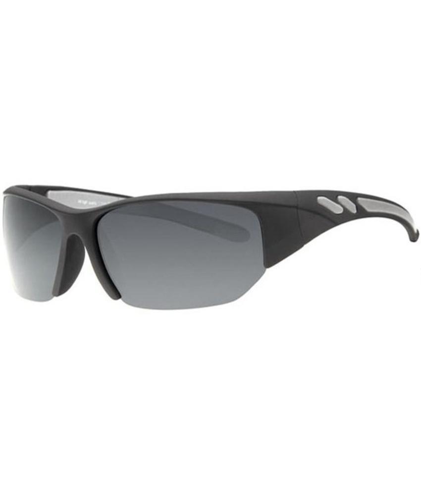 Revex Polaroid sport zonnebril zwart/grijs
