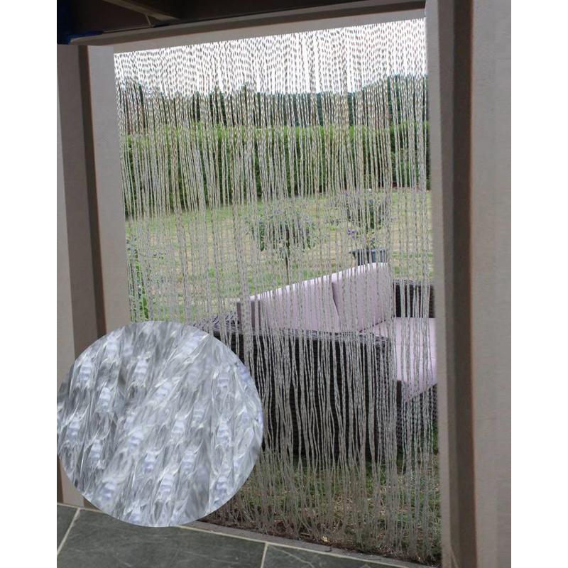 Vliegengordijn transparant 140x240 cm. Medusa groot