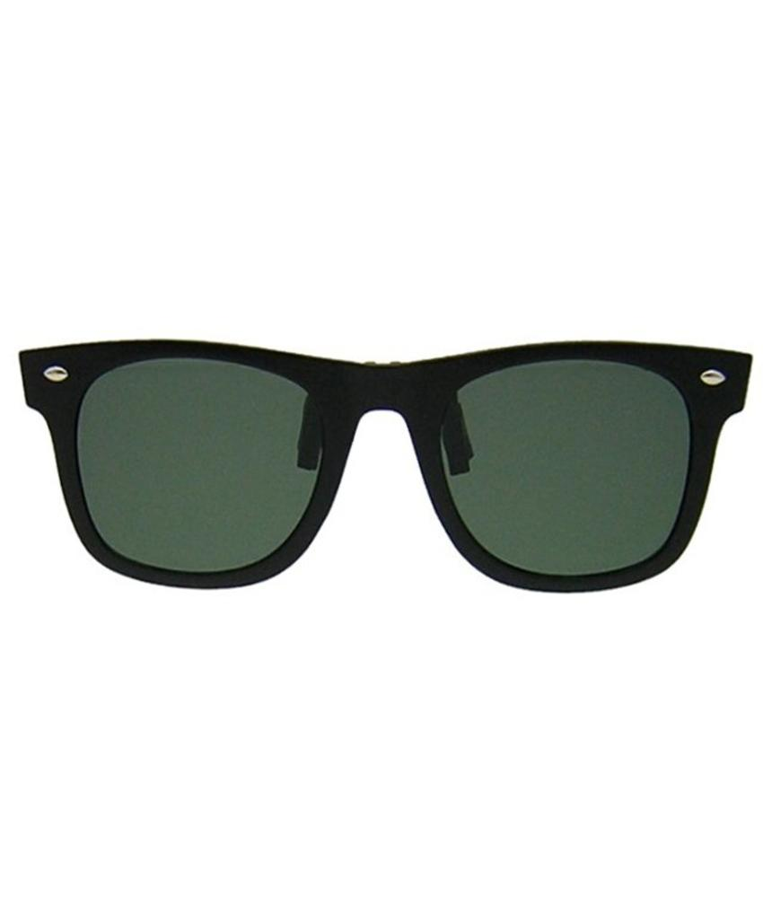 Revex Wayfarer Clip -On Zonnebril Green