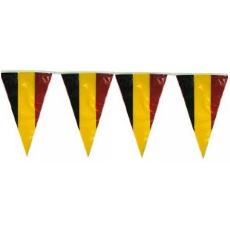 """Puntvlaggen """"Vlaggenlijn"""" België 10 meter."""