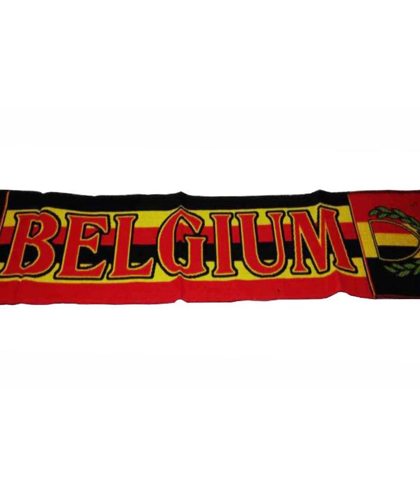 Sjaal geborduurd Belgium