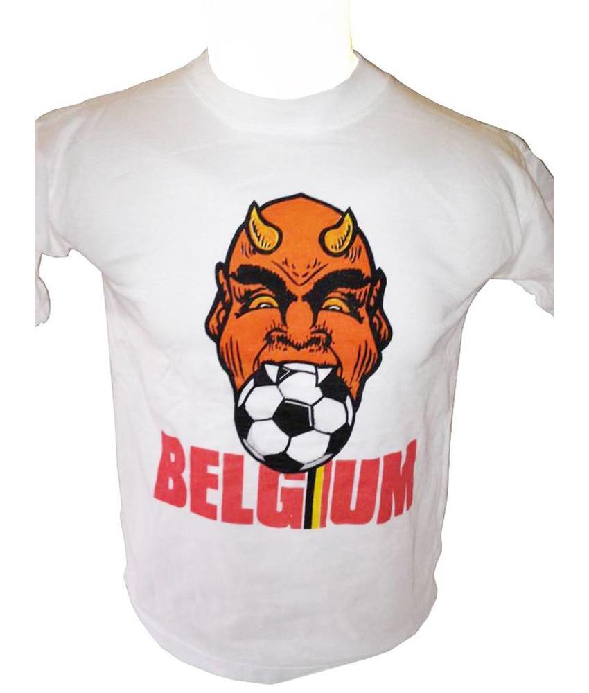 T-shirt Belgium duivel-bal