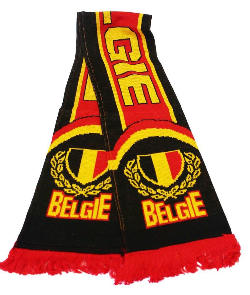 Sjaal België zwart