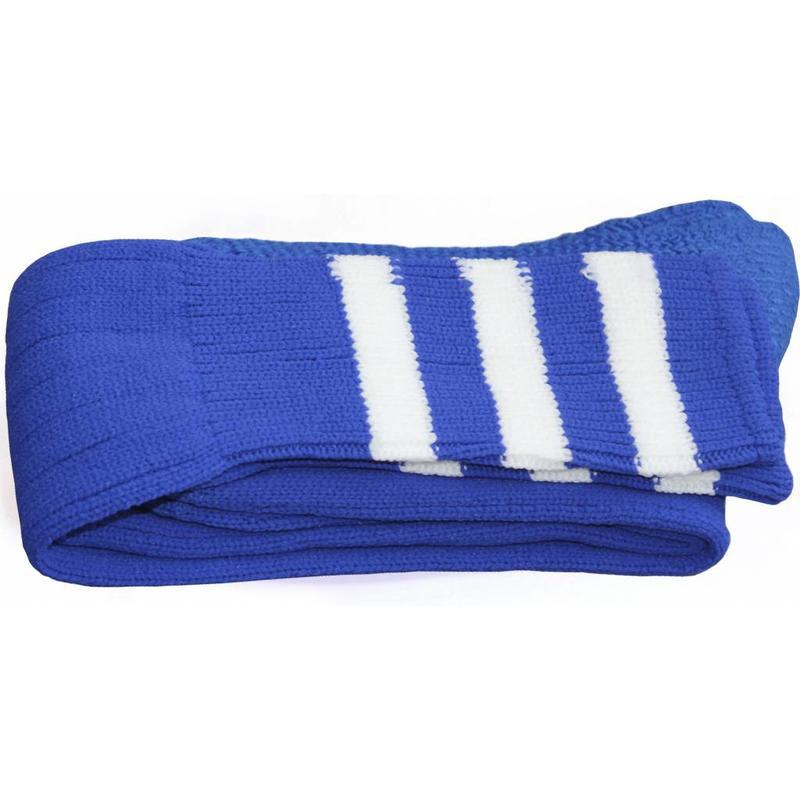 Voetbal kousen Blauw/wit