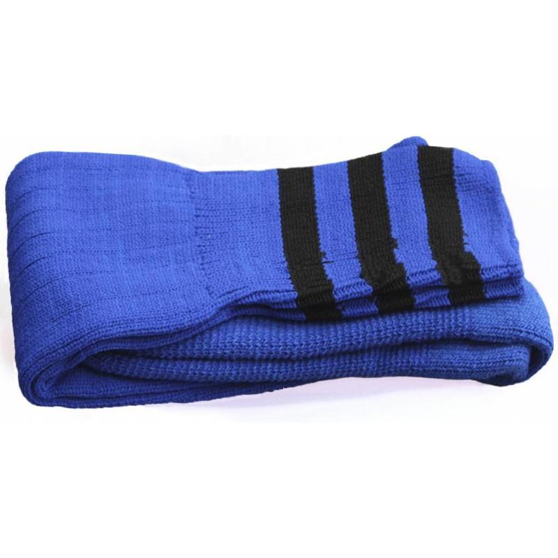 Voetbal kousen Blauw/zwart
