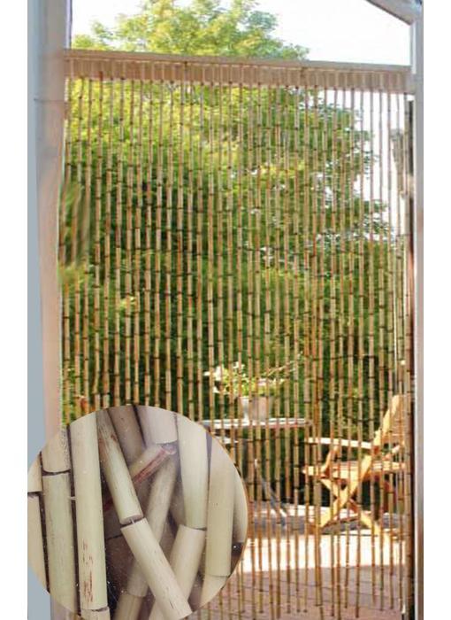 Vliegengordijn Bamboe 90 x 200 cm. Natural