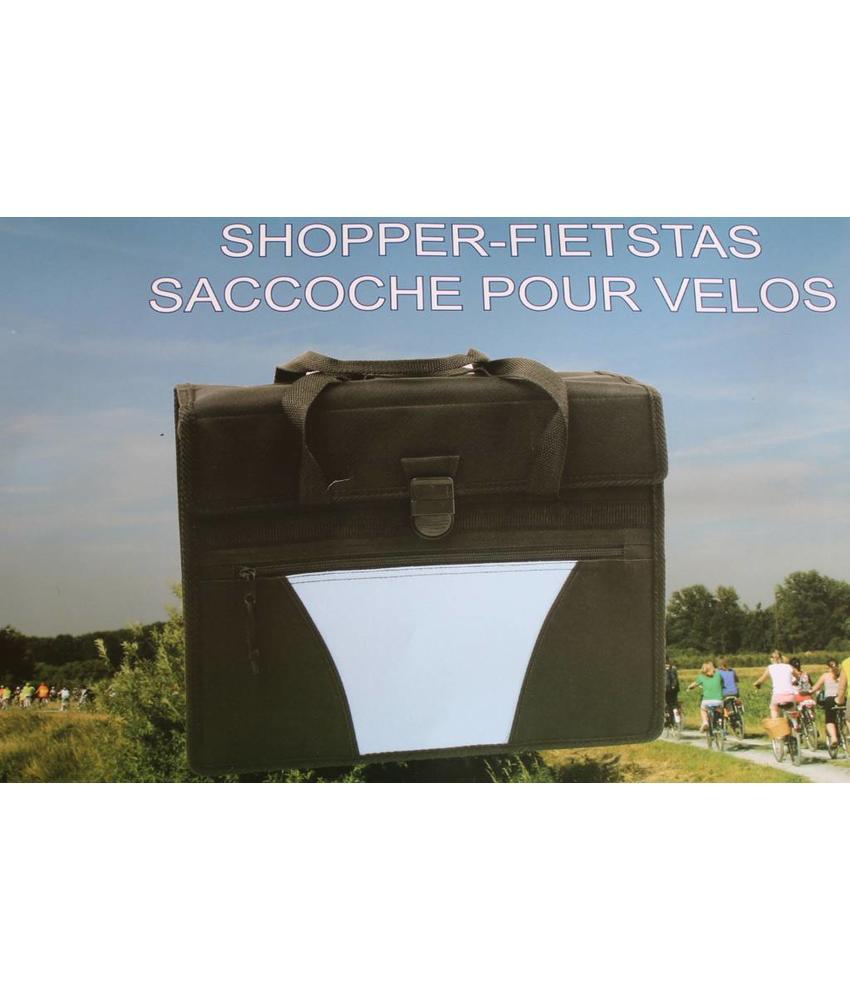 Fietstas - Shopper Zwart