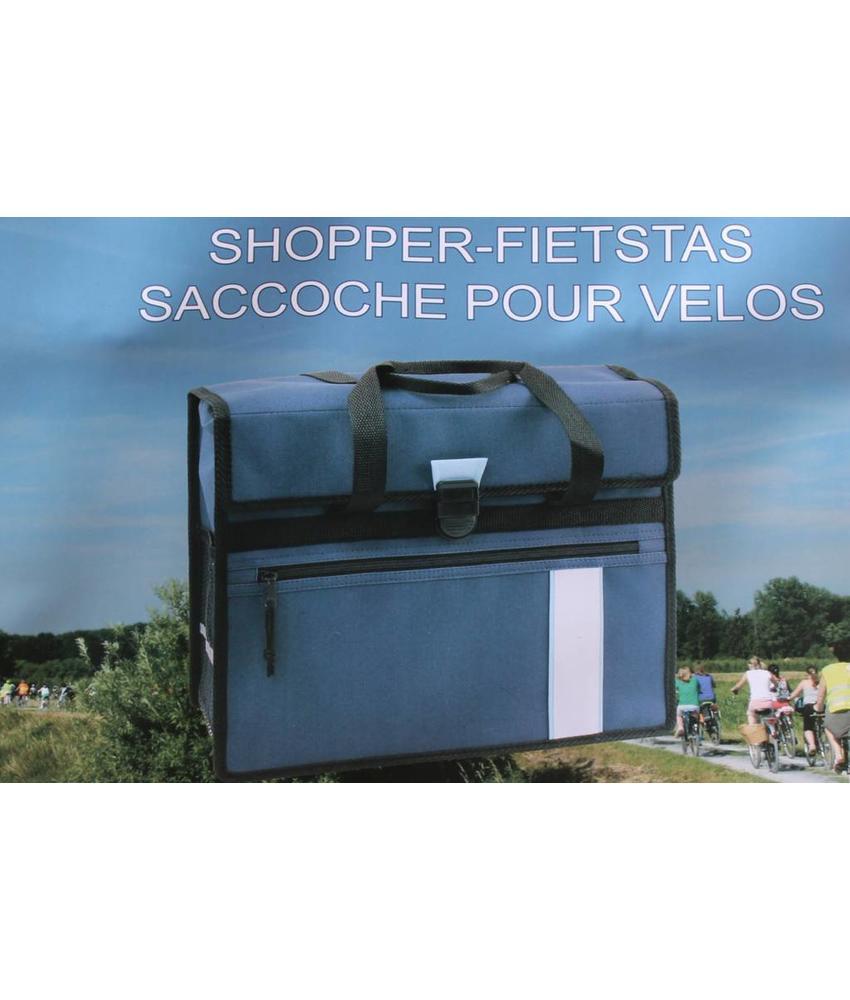 Fietstas - Shopper Blauw