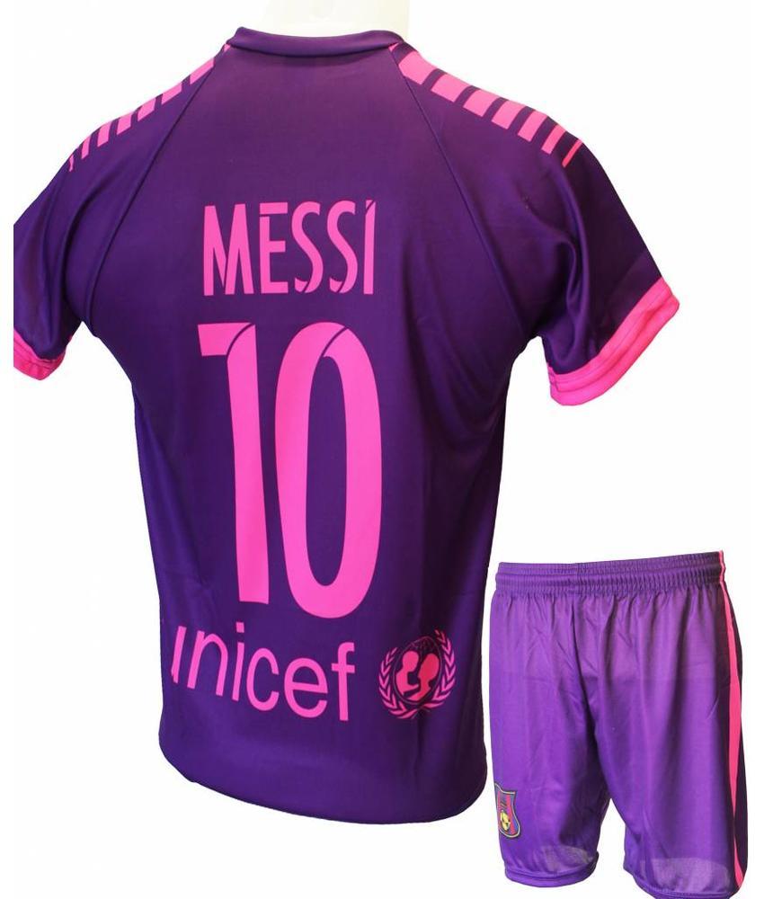 """Barcelona Voetbaltenue Messi 2016-2017 """"Uit"""""""