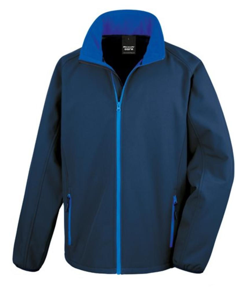 Softshell Jack Navy/Royal
