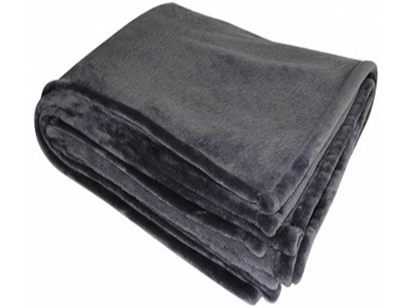 Flanellen deken 200x150 cm Grey
