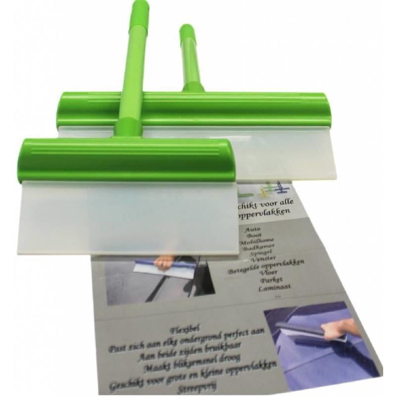 Waterwisser set Groen