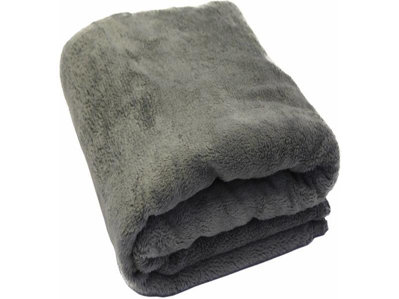 Fleece Deken Groot.Fleece Plaid Met Extra Zak 127 X 152 Cm Grijs
