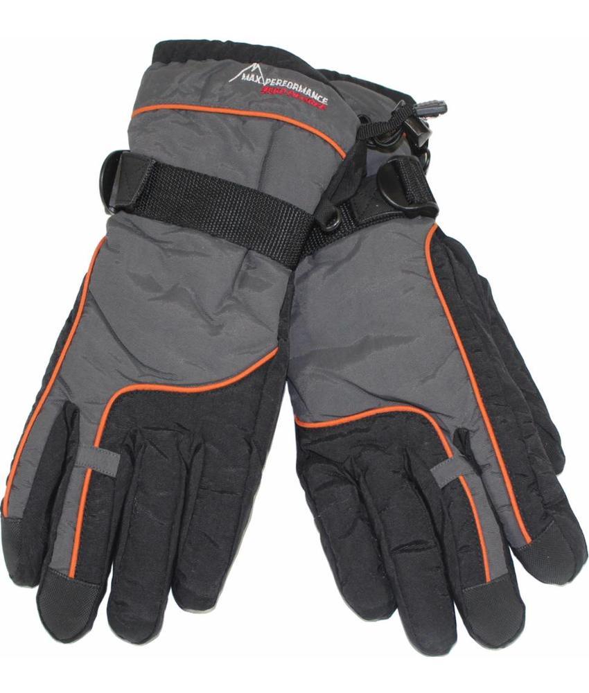 Ski handschoenen Performance grijs/zwart