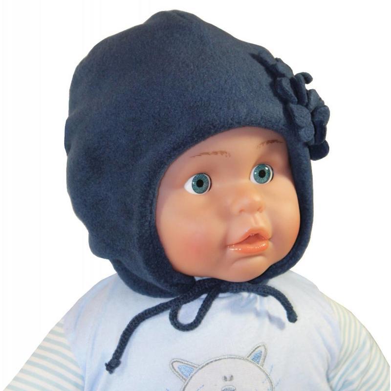 Baby / Kindermuts fleece blauw