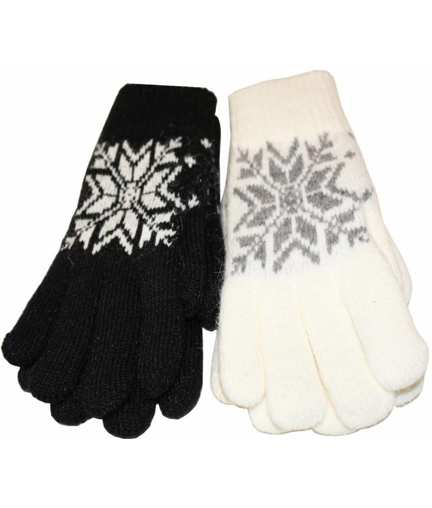 Handschoenen Dames met stermotief