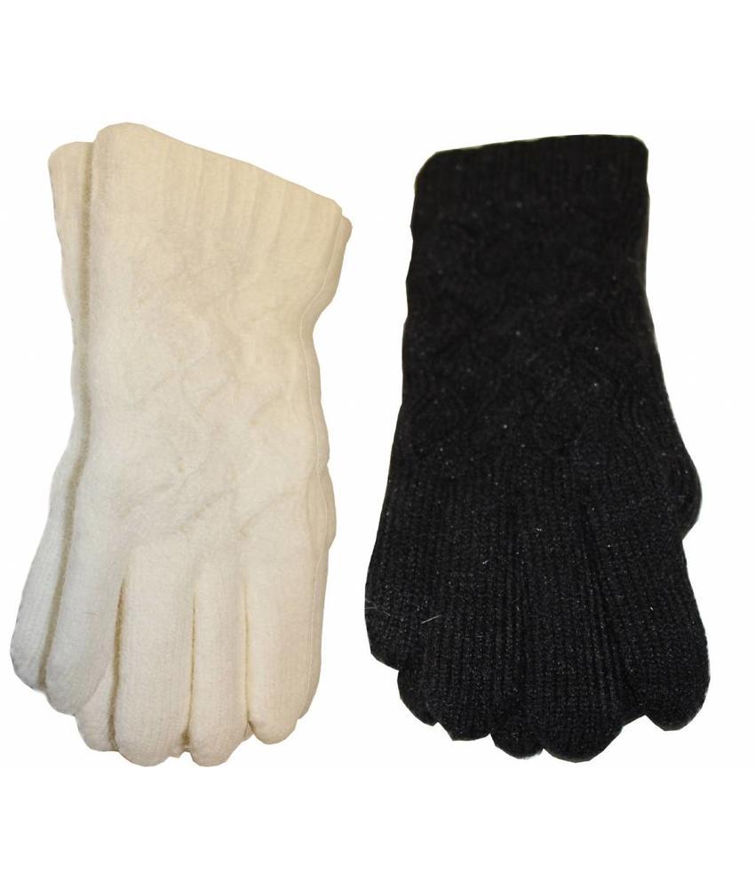 Handschoenen Dames fijne kabel
