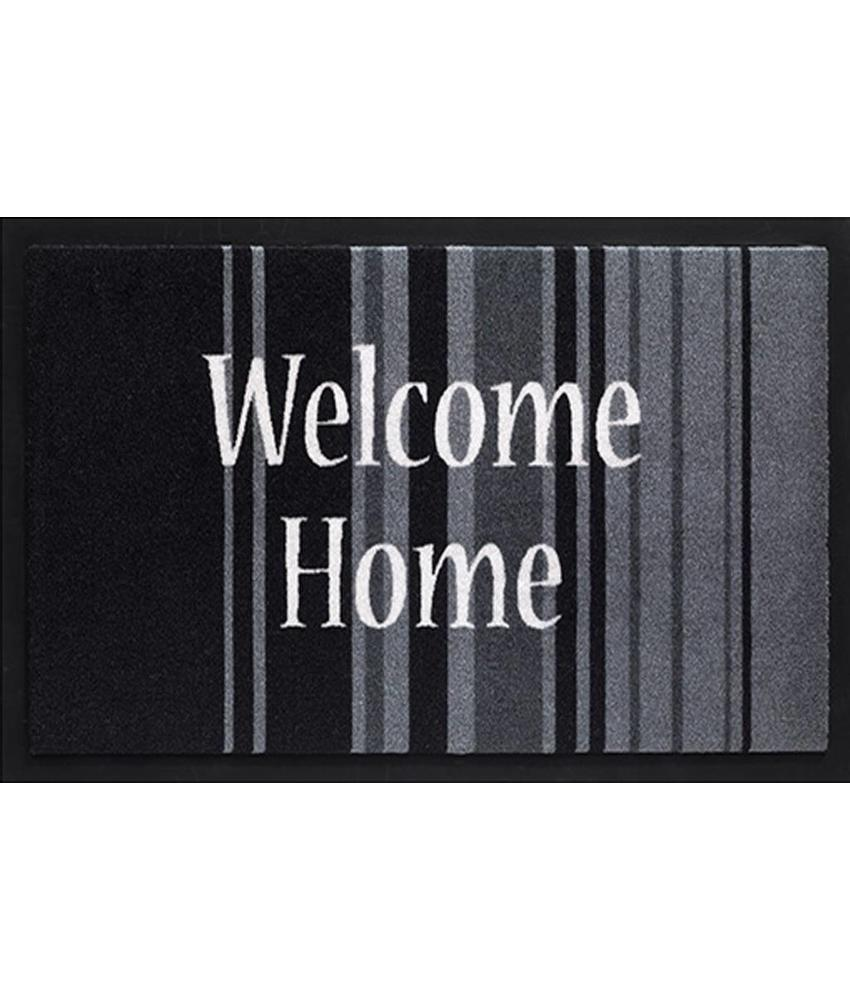 Deurmat Welcome Home stripes 45x75 cm.