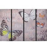 Rubber Deurmat ECO Master 40 x 60 cm. Butterfly Home