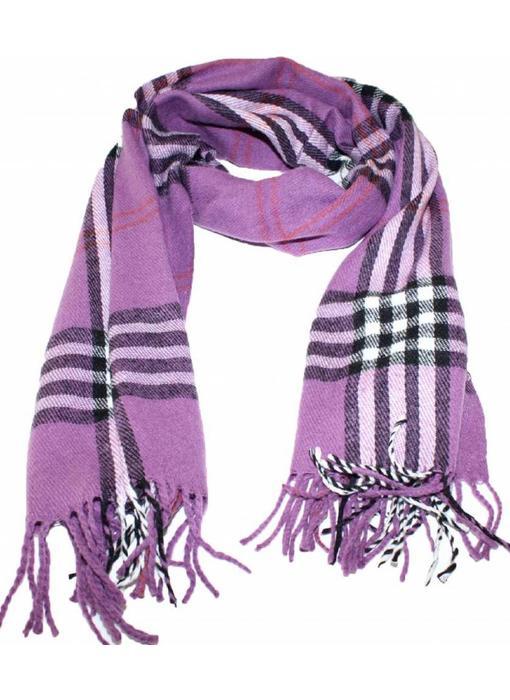 Sjaal geruit groot