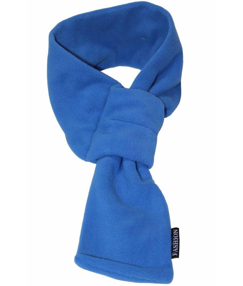 Doorsteek Sjaal fleece bic Blauw