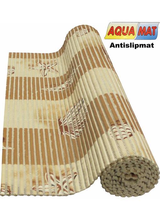 Aquamat antislipmat crème schelp motief 0,65 x 2 meter