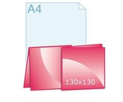 Geboortekaartjes carré 130