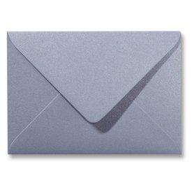 Gekleurde envelop metallics zilver