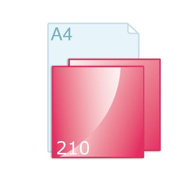 Ansichtkaart carré 210 (210 x 210 mm)