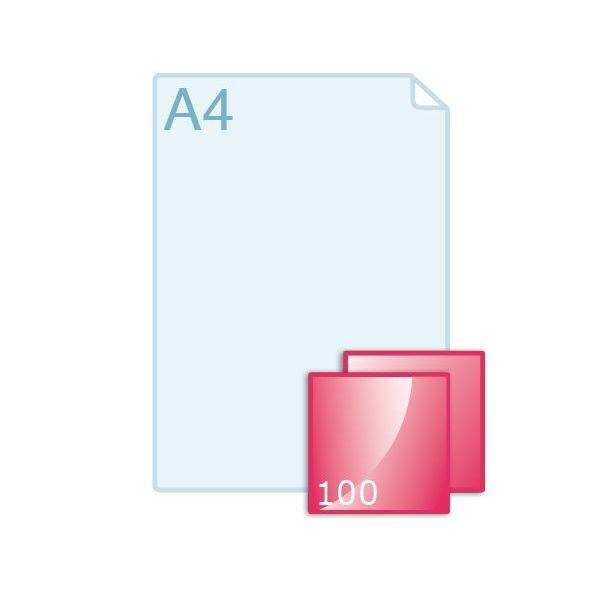 Ansichtkaart carré 100