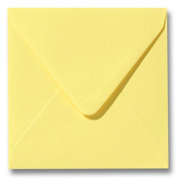 Gekleurde envelop Kanariegeel