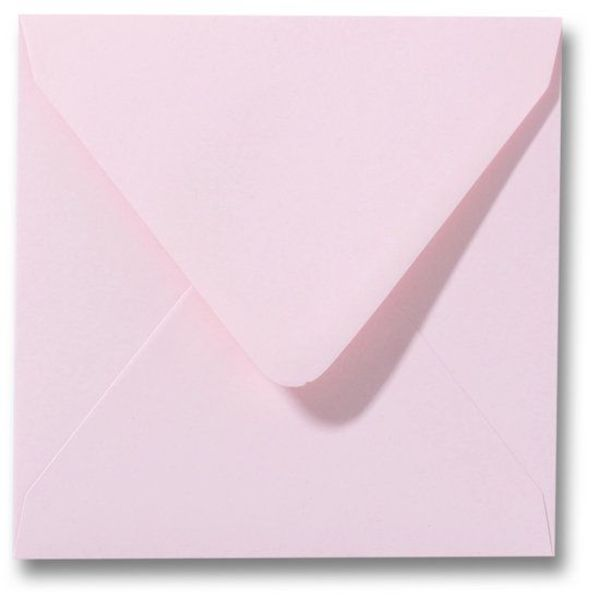 Gekleurde envelop Lichtroze