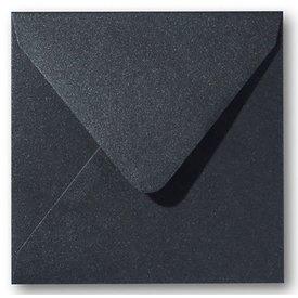 Gekleurde envelop Zwart