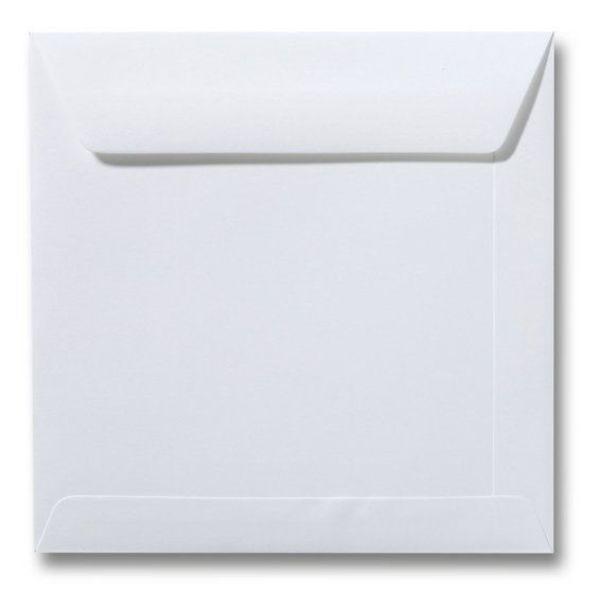 Blanco envelop 220 x 220 mm - GOUD