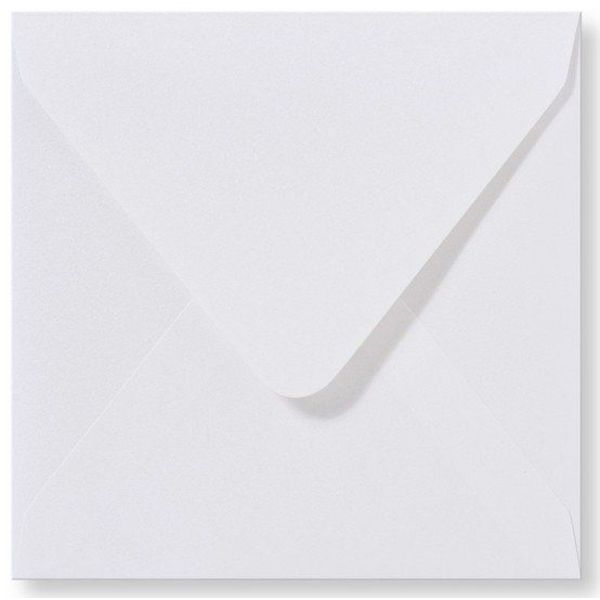 Blanco envelop Carré 160