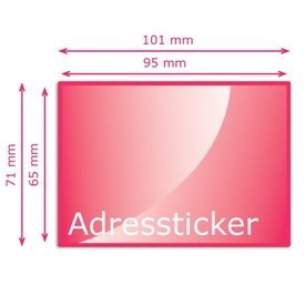 Adresstickers