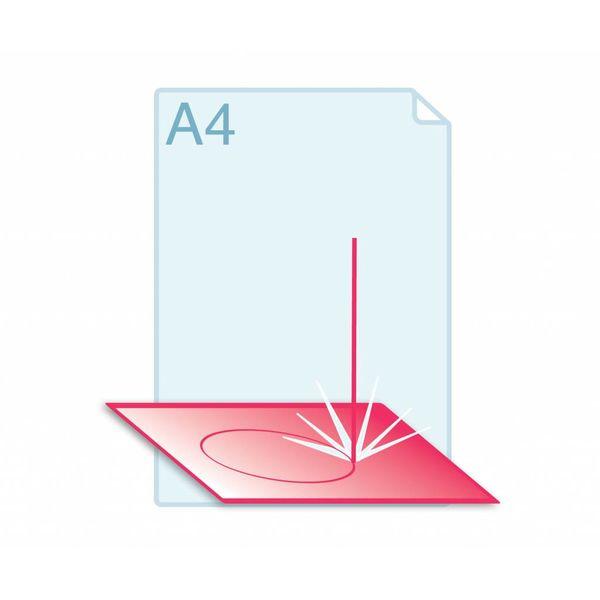 Laserstansen op formaat A4 (210 x 297 mm) of kleiner